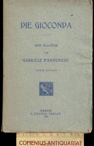 D'Annunzio .:. Die Gioconda