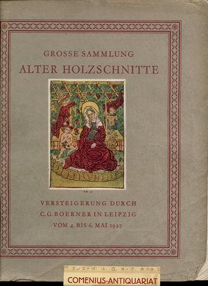 Boerner .:. Sammlung alter Holzschnitte