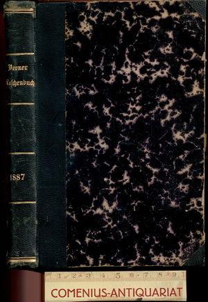 Berner .:. Taschenbuch 1887