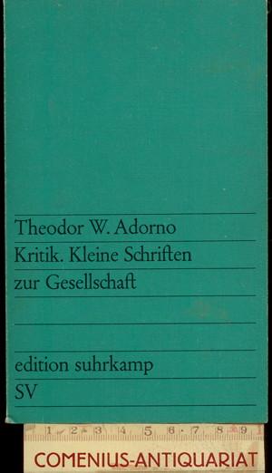 Adorno .:. Kritik