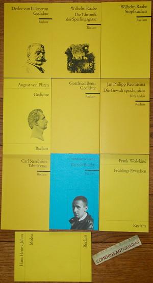 Reclam .:. Deutsche Literatur