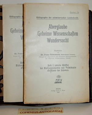 Bibliographie .:. Aberglaube