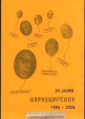 20 Jahre .:. Orpheus-Chor Bern