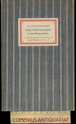 Burckhardt .:. Weltgeschichte