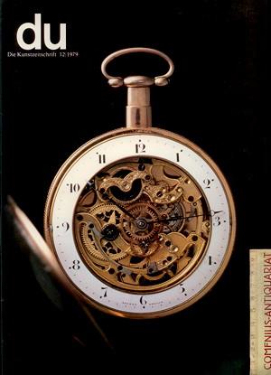 du 1979/12 .:. Uhren und Zeit