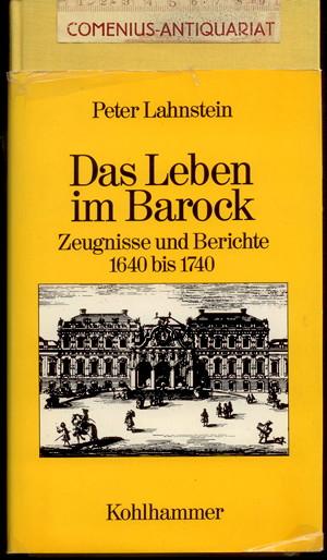 Lahnstein .:. Das Leben im Barock