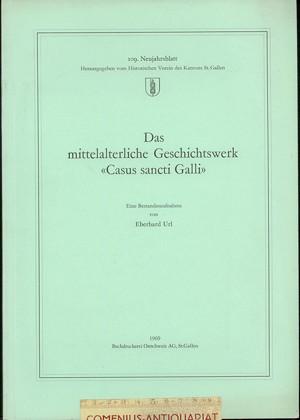 109. Neujahrsblatt .:. Casus sancti Galli