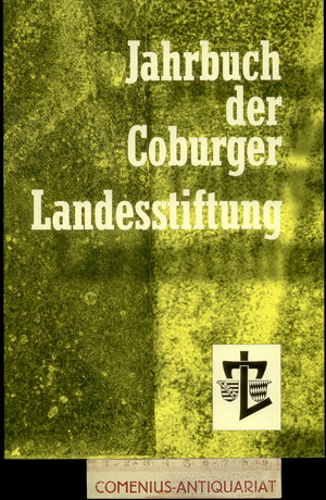 Coburger Landesstiftung .:. Jahrbuch 56/2012