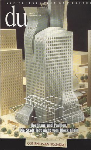 du 1994/11 .:. Hochhaus und Pavillon