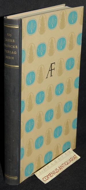 125 Jahre Francke .:. Verlag Bern