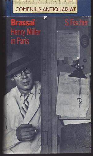 Brassai .:. Henry Miller in Paris