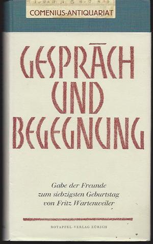 Wartenweiler .:. Gespraech und Begegnung