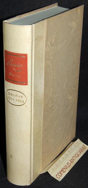Pestalozzi .:. Schriften 1798-1804