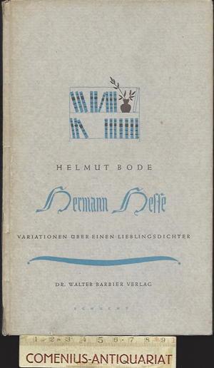 Bode .:. Hermann Hesse