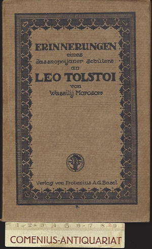 Morosow .:. Leo Tolstoi