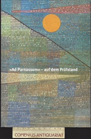Ad Parnassum .:. auf dem Pruefstand