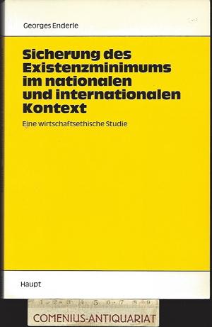 Enderle .:. Sicherung des Existenzminimums