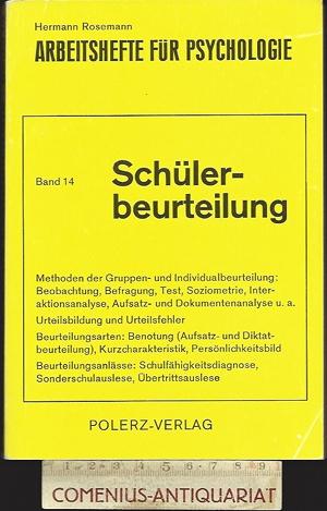 Rosemann .:. Schuelerbeurteilung