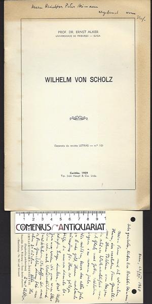 Alker .:. Wilhelm von Scholz