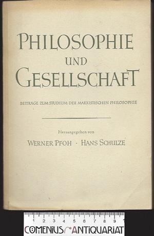 Pfoh / Schulze .:. Philosophie und Gesellschaft