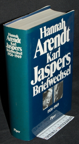 Arendt / Jaspers .:. Briefwechsel 1926 - 1969