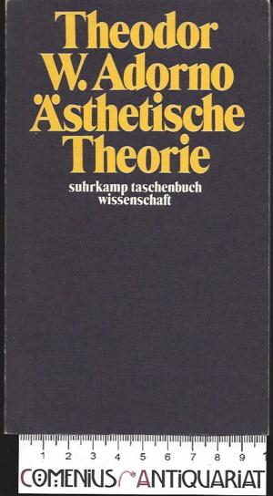 Adorno .:. Aesthetische Theorie