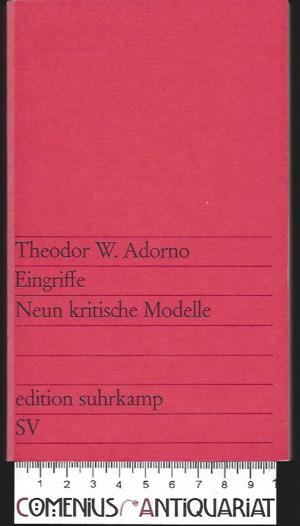 Adorno .:. Eingriffe