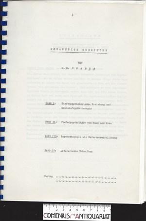 Graber .:. Gesammelte Schriften