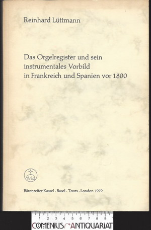 Luettmann .:. Das Orgelregister