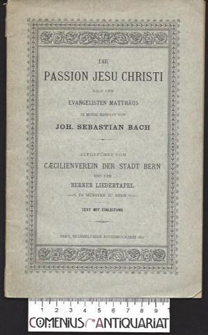 Bach .:. Die Passion Jesu Christi