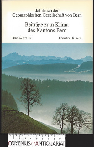 Aerni .:. Klima des Kantons Bern