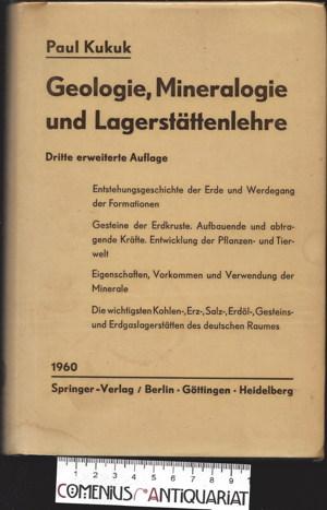Kukuk .:. Geologie, Mineralogie und Lagerstaettenlehre