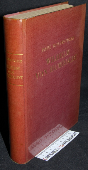 Binswanger .:. Wilhelm von Humboldt