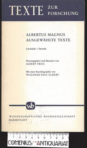 Albertus .:. Ausgewaehlte Texte