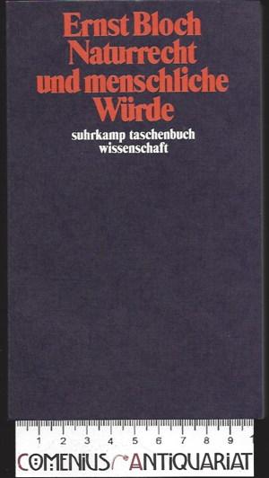 Bloch .:. Naturrecht und menschliche Wuerde