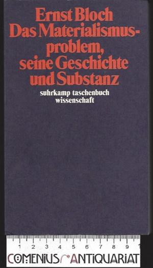 Bloch .:. Das Materialismusproblem