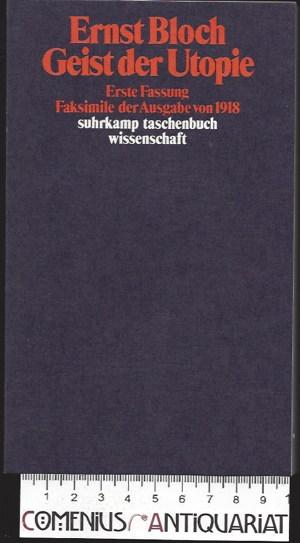Bloch .:. Geist der Utopie [1918]