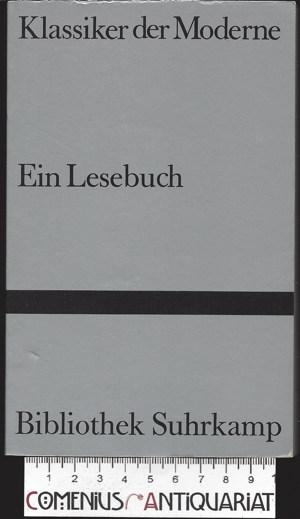 Bibliothek Suhrkamp .:. Klassiker der Moderne