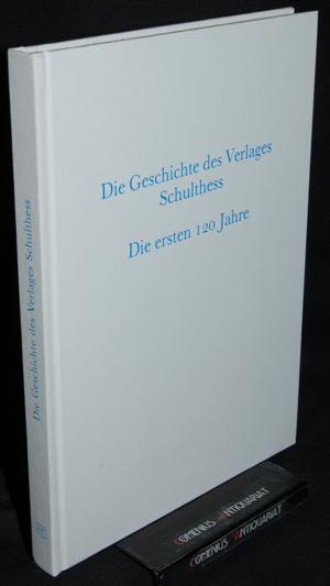 Die Geschichte .:. des Verlages Schulthess