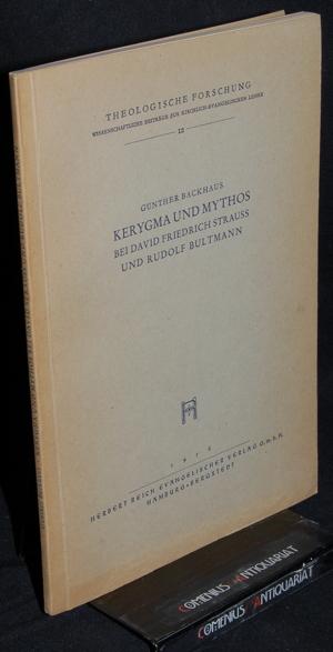 Backhaus .:. Kerygma und Mythos