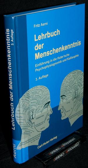 Aerni .:. Lehrbuch der Menschenkenntnis