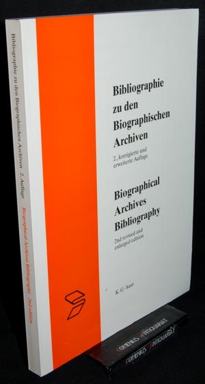 Bibliographie .:. Bibliographie zu den biographischen Archiven