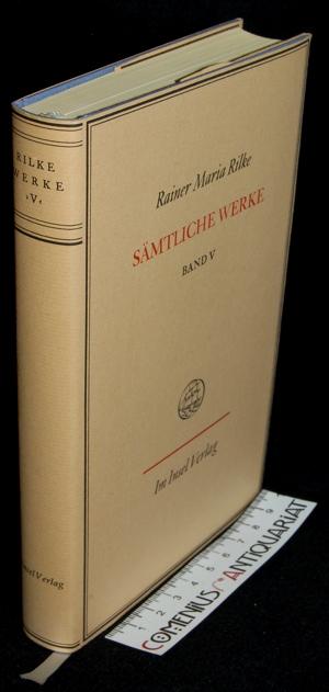 Rilke .:. Saemtliche Werke [5]