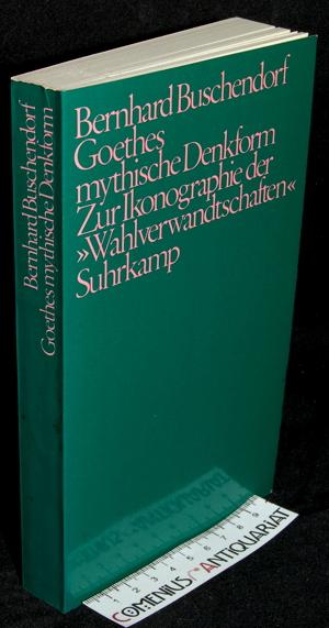 Buschendorf .:. Goethes mythische Denkform
