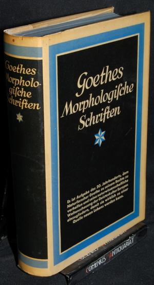 Goethe .:. Morphologische Schriften