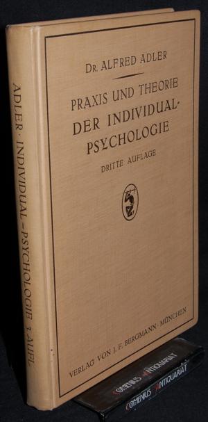 Adler .:. Praxis und Theorie der Individual-Psychologie
