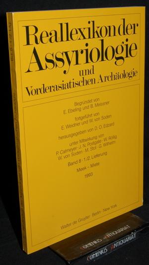 Reallexikon .:. Assyriologie 8 - 1/2