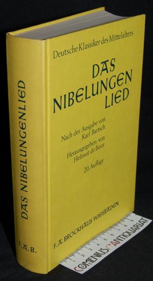 Boor .:. Das Nibelungenlied