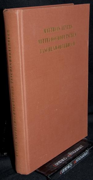 Lexer .:. Mittelhochdeutsches Taschenwoerterbuch
