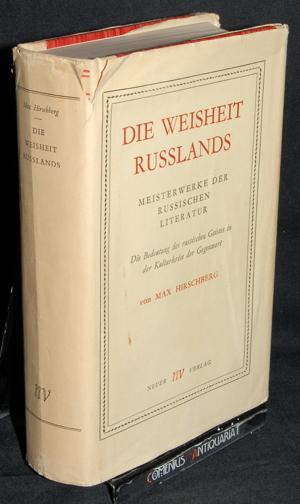 Hirschberg .:. Die Weisheit Russlands
